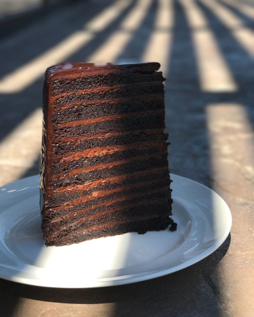 With 23 Layers Of Chocolate In Honor You Know Who The Mjsteakilani Cake Is A Can T Miss Foo Pport Levy Restaurants