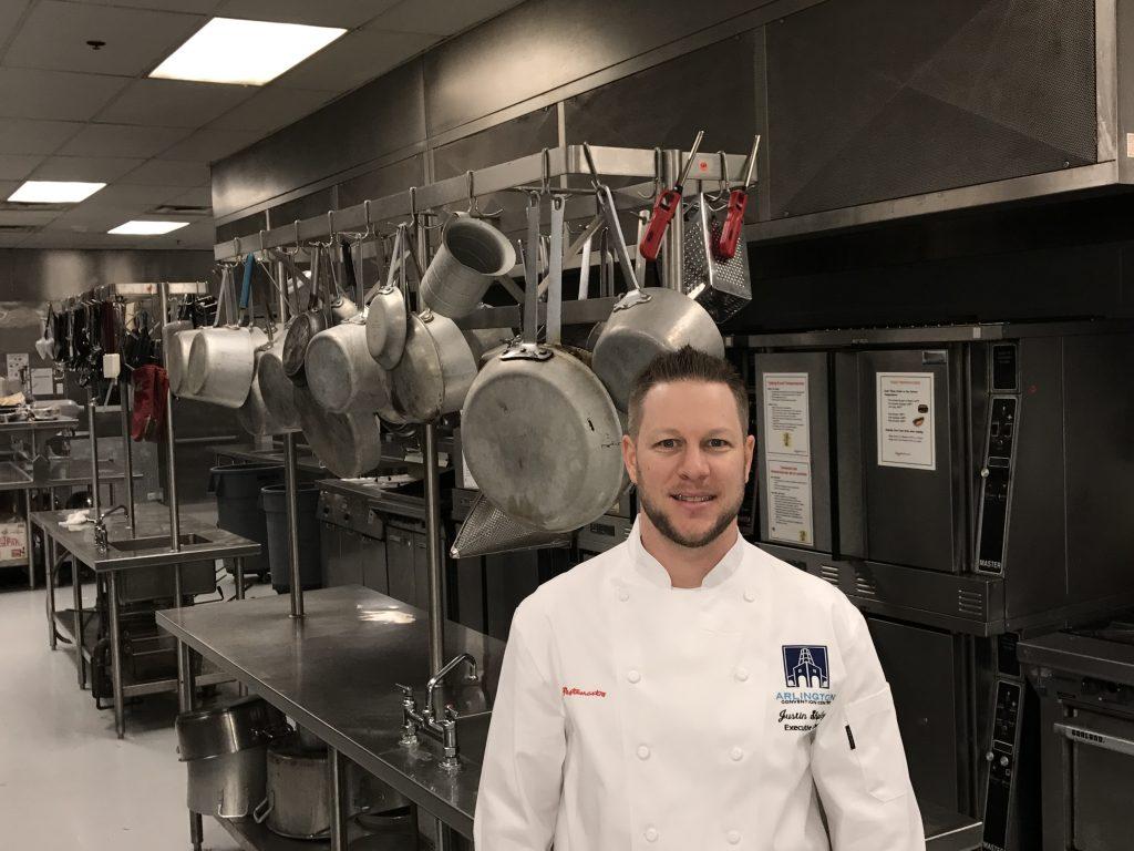 justin shipley  executive chef at arlington convention